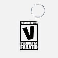 V for Vendetta Fan Keychains
