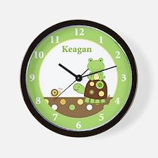 Laguna Frog and Turtle - Keagan Wall Clock