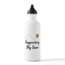 Support Sister Orange Awareness Water Bottle