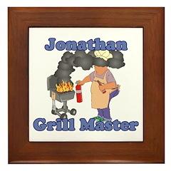 Grill Master Jonathan Framed Tile