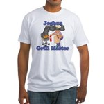 Grill Master Joshua Fitted T-Shirt