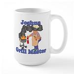 Grill Master Joshua Large Mug