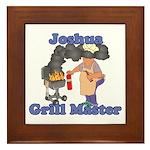 Grill Master Joshua Framed Tile