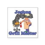Grill Master Joshua Square Sticker 3