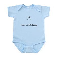 wear a smile today Infant Bodysuit