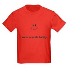 wear a smile today T