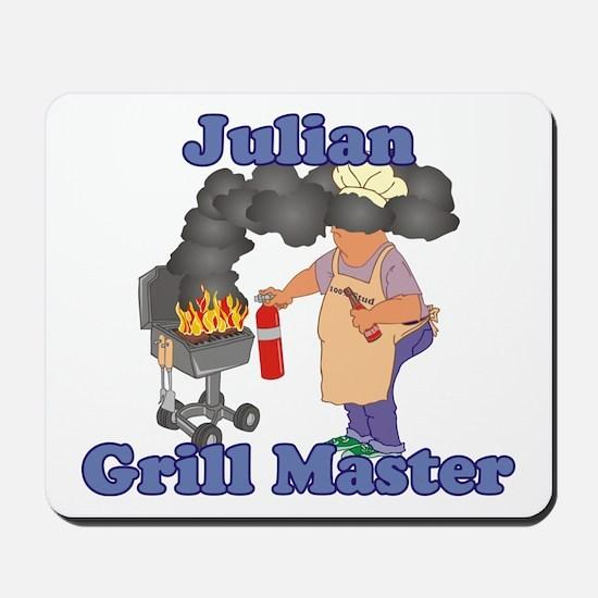 Grill Master Julian Mousepad