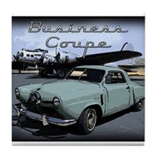 Business Coupe Tile Coaster