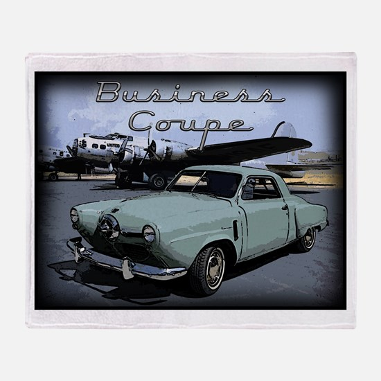 Business Coupe Throw Blanket