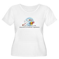 Stork Baby Moldova USA 2 T-Shirt