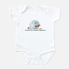 Stork Baby Moldova USA 2 Infant Bodysuit