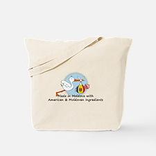 Stork Baby Moldova USA 2 Tote Bag