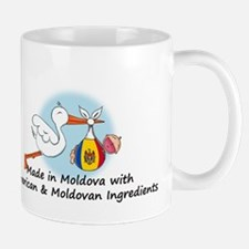 Stork Baby Moldova USA 2 Mug