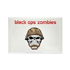 black ops zombies t-shirt Rectangle Magnet
