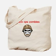 black ops zombies t-shirt Tote Bag