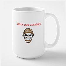 black ops zombies t-shirt Large Mug