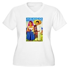 Mexico Travel Poster 12 T-Shirt