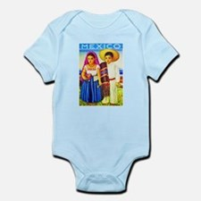 Mexico Travel Poster 12 Infant Bodysuit