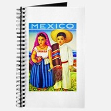 Mexico Travel Poster 12 Journal