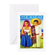 Mexico Travel Poster 12 Greeting Card