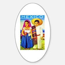 Mexico Travel Poster 12 Decal