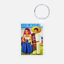 Mexico Travel Poster 12 Keychains