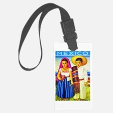 Mexico Travel Poster 12 Luggage Tag