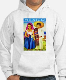 Mexico Travel Poster 12 Hoodie