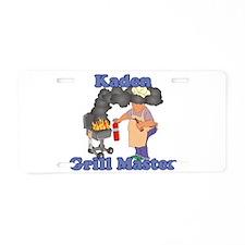 Grill Master Kaden Aluminum License Plate