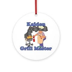 Grill Master Kaiden Ornament (Round)