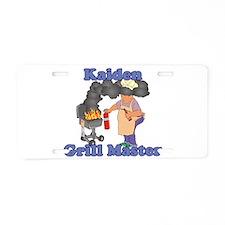Grill Master Kaiden Aluminum License Plate