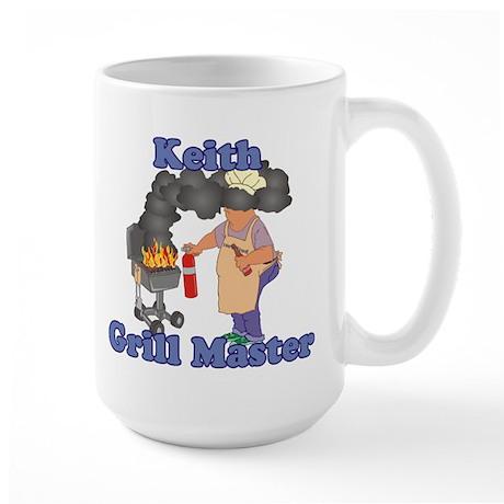 Grill Master Keith Large Mug