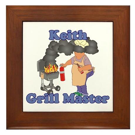 Grill Master Keith Framed Tile
