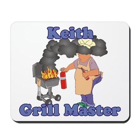 Grill Master Keith Mousepad