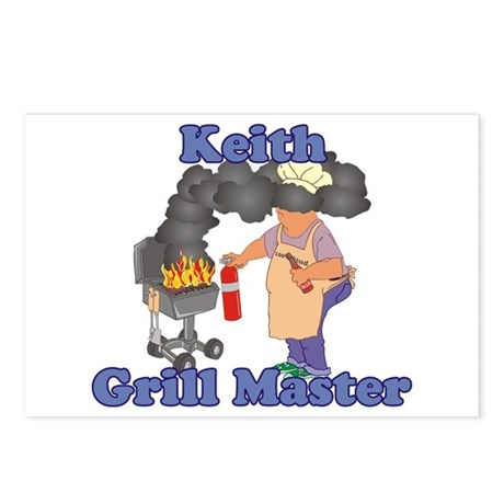 Grill Master Keith Postcards (Package of 8)