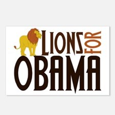 Lions for Obama Postcards (Package of 8)