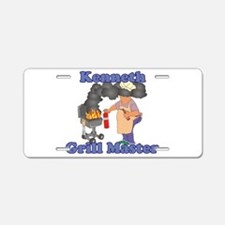 Grill Master Kenneth Aluminum License Plate