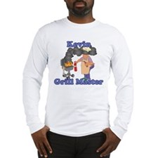 Grill Master Kevin Long Sleeve T-Shirt