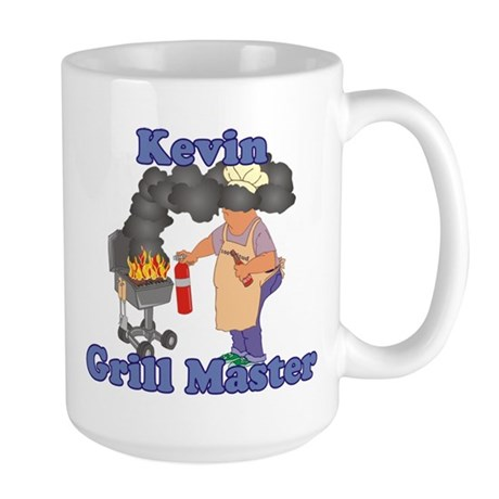 Grill Master Kevin Large Mug