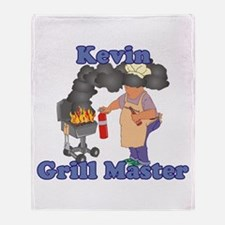 Grill Master Kevin Throw Blanket