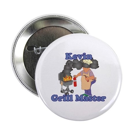 """Grill Master Kevin 2.25"""" Button"""