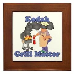 Grill Master Kodah Framed Tile