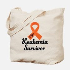 5 Year Leukemia Survivor Tote Bag