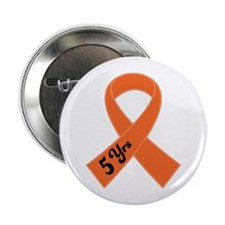 "5 Year Leukemia Survivor 2.25"" Button"