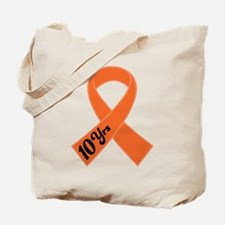 10 Year Leukemia Survivor Tote Bag
