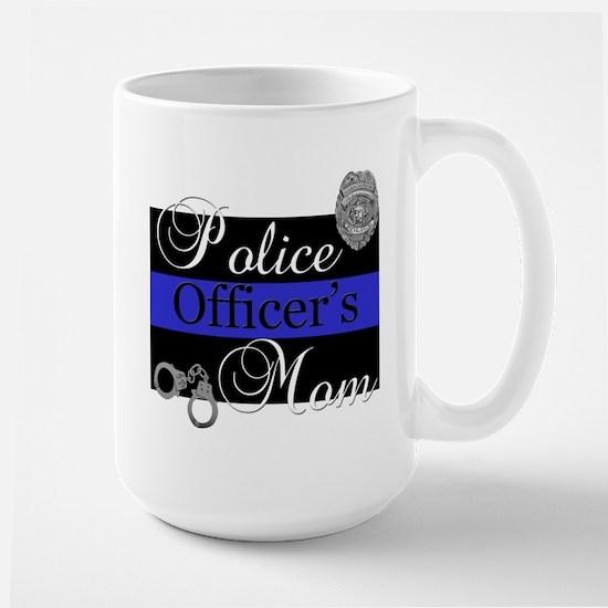 Police Mom Large Mug