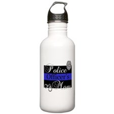 Police Mom Sports Water Bottle