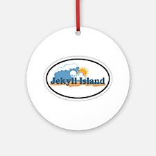 Jekyll Island GA - Oval Design. Ornament (Round)