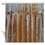 Tin shower curtain Shower Curtains