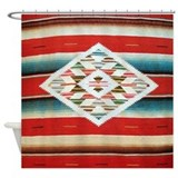 Mexican shower curtains Shower Curtains